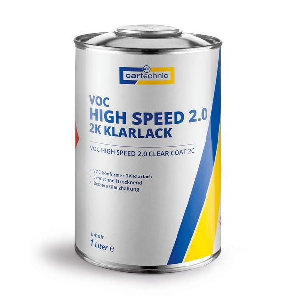 VOC High Speed 2.0 2K Klarlack 1 Liter